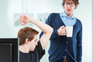 Having good workplace manners is an essential job-related social-skill.