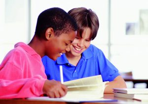 Built into the Solve It! instructional approach are two steps—read (for understanding) and paraphrase (in their own words)—that support students who have difficulty reading.